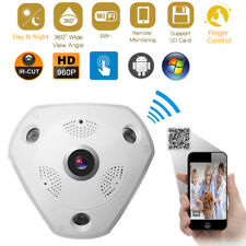 360° Panoramic Fisheye IP Camera Wifi Security Surveillance Camera VR 3D Cam WS1