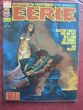 Eerie # 114  Great cover of Haxtur by Sanjulian