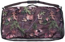 Saddle Blanket Carrier - Heavy Nylon - Zipper - Camo Timber - Holds 3 Blankets