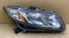 2013-2015 Honda Civic Halogen Headlight OEM RH (Passenger)
