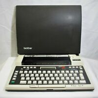 Brother EP-20 Portable Typewriter Word Processor (QW)