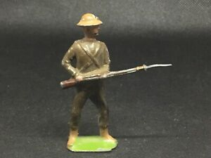 Britains City Imperial Volunteers soldier (lime Green 480) Damage To Base