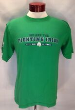 D888 2010 Adidas Notre Dame Fighting Irish T Shirt By Students & Alumni L Mens