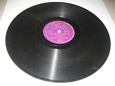 """BOB WILLS OH! YOU PRETTY WOMAN / I KNEW THE MOMENT I LOST YOU 10"""" 78 Okeh 06640"""