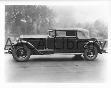 1928 Packard Model 443 Saknoffsky Convertible Vict., Factory Photo (Ref. #61642)