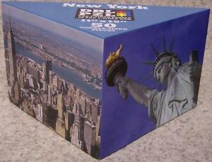 Jigsaw 2 sided Puzzle in the 3 sided box 50 piece New York the Big Apple NEW