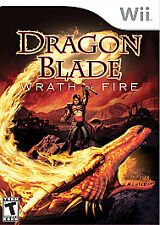Dragon Blade: Wrath of Fire  (Nintendo Wii,2007)-Game In Original Case,no Manual