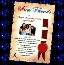 Verleihung eines Ehrentitel  Urkunde für beste Freundin / bester Freund Geschenk