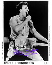 Bruce Springsteen SIGNED SIGNATURE AUTOGRAPH 10X8 REPRO PHOTO PRINT N2