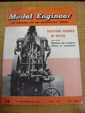 08/11/1962 revista el ingeniero Modelo: Vol. 127 no 3200 (arrugado, manchado esquina