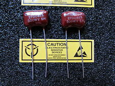 2700pf 500w 5 Elmenco Dura Mica Radial Capacitor Cm06f272j03 Qty 2pcs Usa Nos