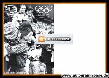 Autogramme Leichtathletik   Dana + Emil ZATOPEK   1952 Retro (Olympia Helsinki)