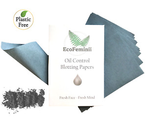 EcoFeminii Premium Oil-Absorbing Blotting Paper: Control Shine & Remove Grease