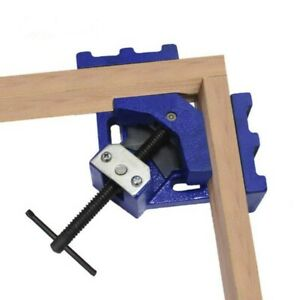90° Mitre Right Angle Corner Clamp Welding Woodworking DIY Tool Photo Frames