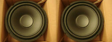 NEW (2) 10'' Poly Home Audio Woofer Speakers Subwoofer Pair Replacement 200w.8om