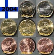 Pièces euro de la Finlande Année 2004