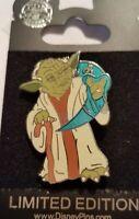 Disney Pin 69920 WDW Star Wars Weekends 2009 Yoda Annual Passholder Spinner LE