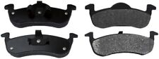 Disc Brake Pad Set-ProSolution Semi-Metallic Brake Pads Rear Monroe FX1279