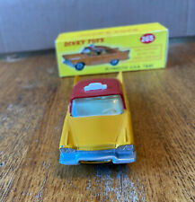 DINKY TOYS #265 PLYMOUTH PLAZA TAXI MADE 1960-1966