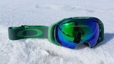 Ski goggles Oakley Airbrake - Green Emerald /Jade iridium + hi yellow. (REPLICA)