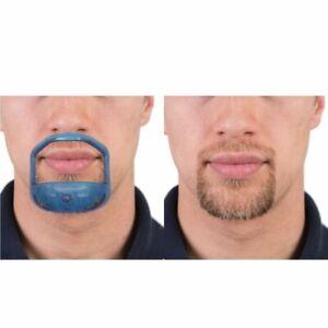 5 Sizes Set of Goatee Beard Shaving Template, Beard Outliner, Beard Stencil