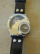 Mens Oulm Watch Large Unique Dial rare watch 9591