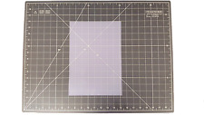 "Quilted Bear Self Healing Quilting Cutting Mat Transparent 17"" x 23"" comparable"