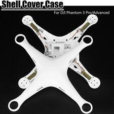 2Pcs Body Bottom Shell+Upper Cover Case+Screws For DJI Phantom 3 Pro/Advanced