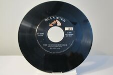 """45 RECORD 7""""- MIKE PEDICIN QUINTET - WHEN THE CATS COME MARCHING IN"""