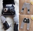 Baby Harem Pants Striped Elastic Toddler Bottoms Boy Girl Pants Legging Trousers