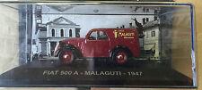 "DIE CAST "" FIAT 500 A MALAGUTI 1947 "" VEICOLI PUBBLICITARI 1/43"