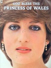 God Bless The Princess Of Wales Diana Book Plus Poster
