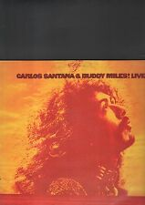 CARLOS SANTANA & BUDDY MILES - live LP