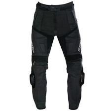 Richa Ladies Viper Leather Motorcycle Sports Pants Trousers - Short Leg Black