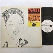 La Vern Baker Saved LP EX/EX 1961 Mono White Label Promo Rare
