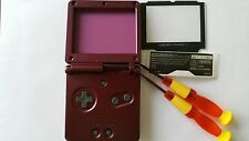 Case Full + Screen Compatible Game Boy Advance Sp Hard Purple New / New