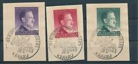 Lot Stamp Germany Poland General Gov't Mi 101-3 Sc NB24-6 WWII Hitler CTO
