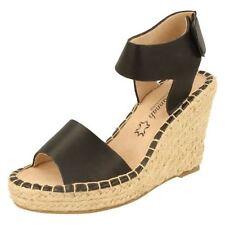 Velcro Wedge Synthetic Sandals & Flip Flops for Women