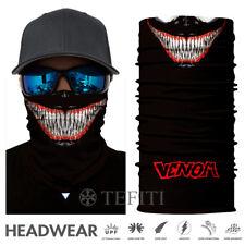 Tactical Skull Face Shield Sun Mask Balaclava Neck Gaiter CLOWN Headwear UV NEW