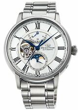 ORIENT 2017 ORIENT STAR Mechanical Moon Phase RK-AM0005S Men7s Watch New in Box