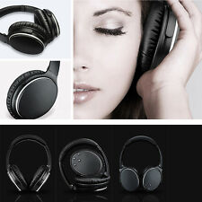 Bluetooth Wireless Noise Cancelling Reduction Active Headphone Stereo Headset