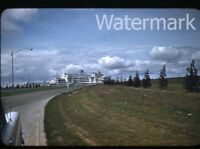 1956 red border Kodachrome Photo slide  Seattle WA airport
