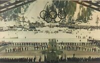 Closing Ceremonies 1960 VIII Winter Olympics, Squaw Valley, CA Vintage Postcard