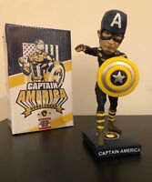 Milwaukee Brewers Captain America Bobblehead Bobble Super Hero Marvel SGA 2018