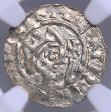 Netherland Friesland Leeunwerden denar 1038-1057 Bruno III NGC MS 63 TOP POP