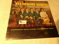 THE FAMOUS WEATHERFORD QUARTET Sweet and Smooth 1964 vinyl LP