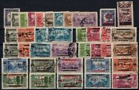 G139166/ FRENCH LEBANON – YEARS 1925 - 1929 USED SEMI MODERN LOT