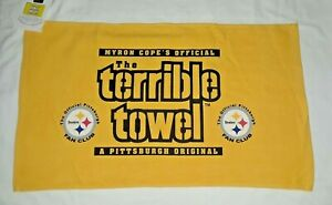 Pittsburgh Steelers Rare Fan Club Terrible towel