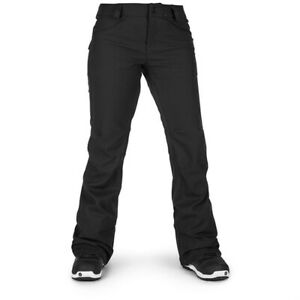 New 2019 Volcom Womens Species Stretch Soft Shell Snowboard Pants XS Black