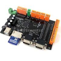 MDK2 USB CNC Breakout Board 100KHz 4-Axis Stepper Motor Controller SD Interface